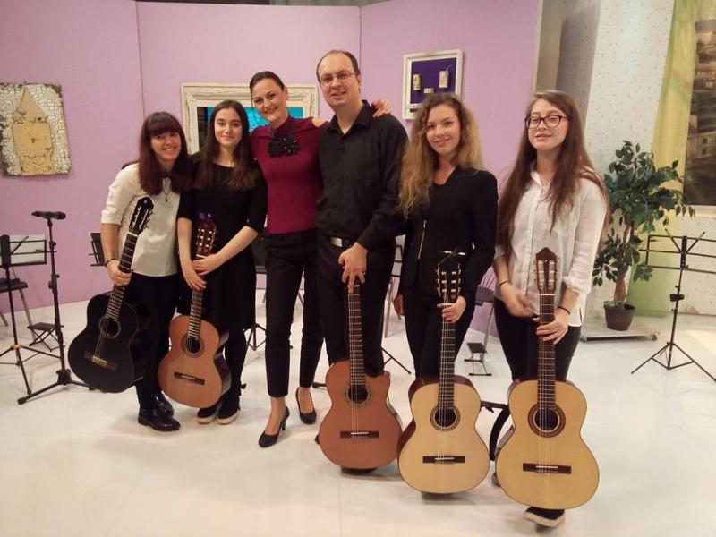 Music Art Center в БНТ