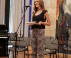 Натали Трифонова - водеща на концерта на Music Art Center