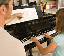 Уроци по пиано за начинаещи и напреднали