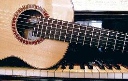 piano kitara