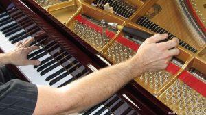 Акордиране на пиано